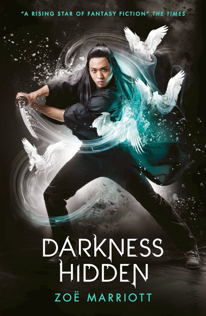 Cover Reveal and Extract: Darkness Hidden by Zoe Marriott