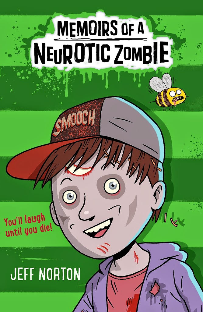 Memoirs of a Neurotic Zombie by Jeff Norton cover reveal and extract