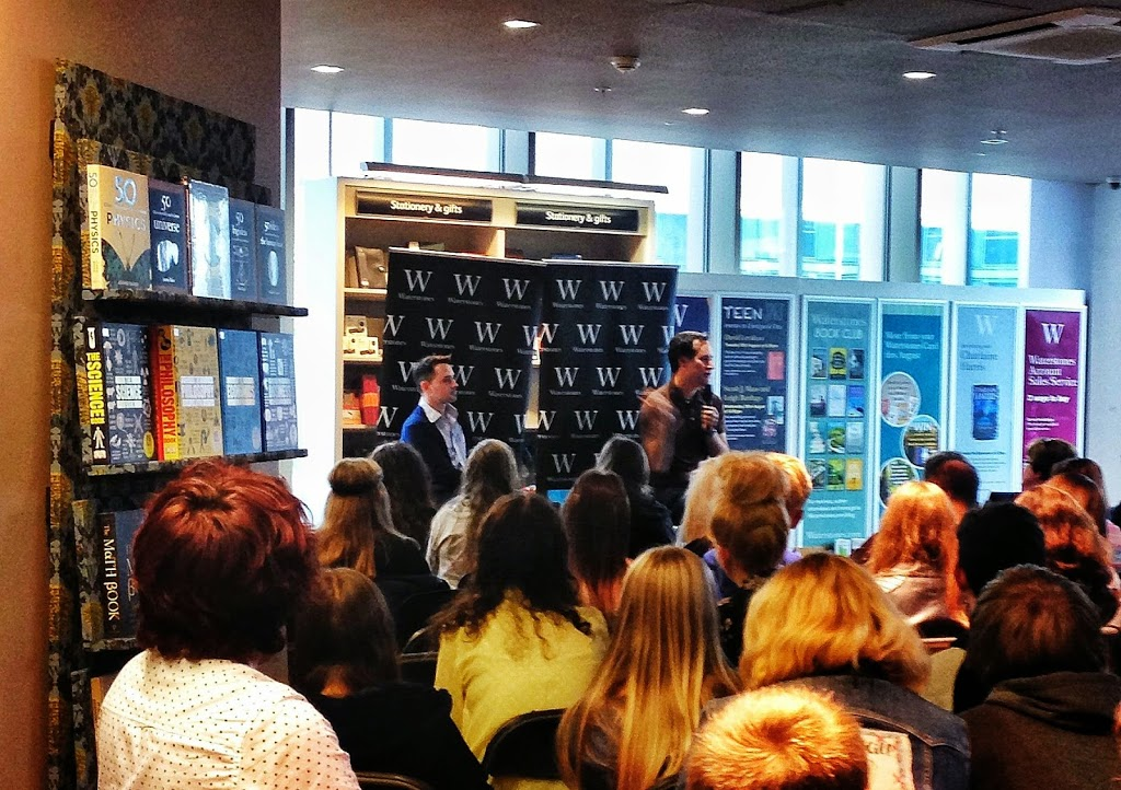 David Levithan at Waterstones Liverpool One