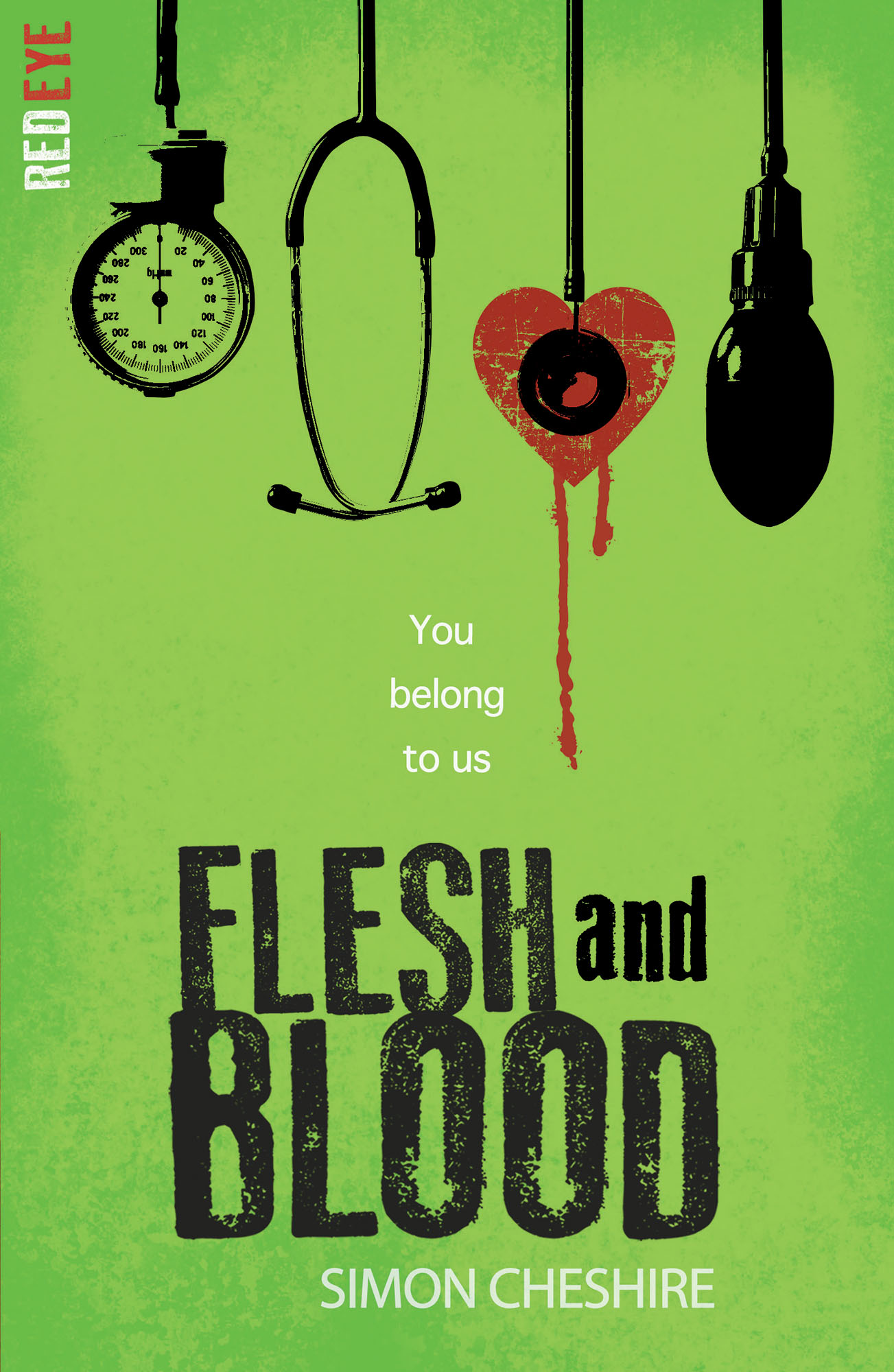 Scary stories and dramatic irony: Blog tour by Flesh and Blood author Simon Cheshire